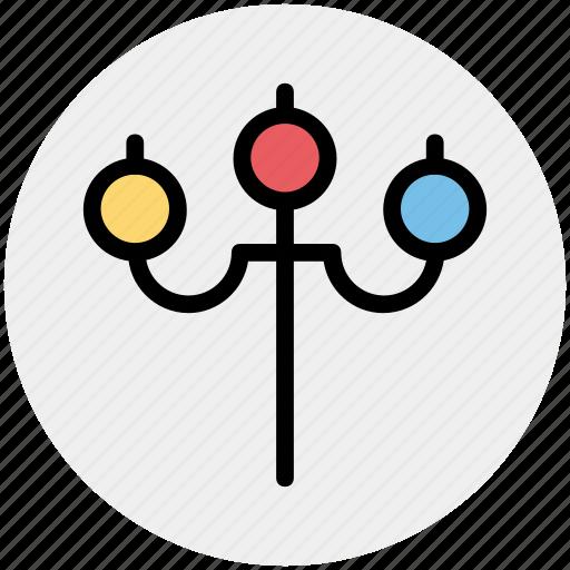 ceiling, lamp, street, street lamp, streetlight icon