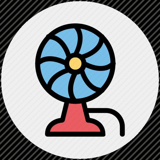 charging fan, electric fan, fan, pedestal fan, ventilator fan icon