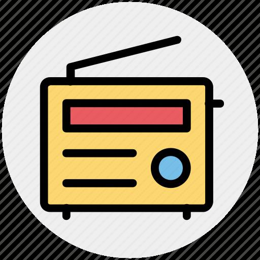 communication, electronics, media, radio icon