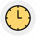 alarm clock, clock, time, watch icon