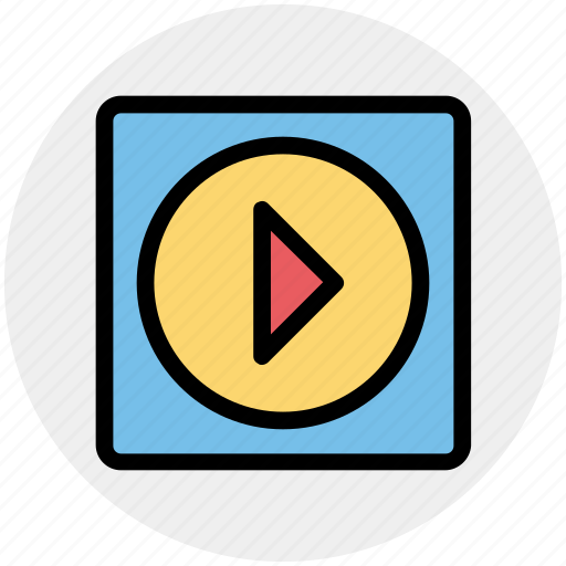Media, play, play button, play media, player icon - Download on Iconfinder