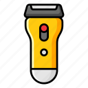 electric razor, electric shaver, hair shaver, safety razor, shaver, shaving equipment icon