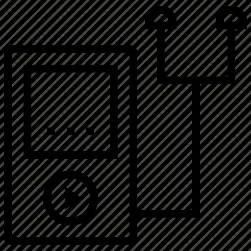 ios device, ipod, music, music player, walkman icon