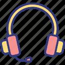 gadget, earspeakers, earbuds, earphones icon