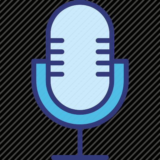 mic, microphone, radio mic, recording icon