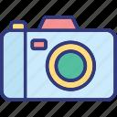 camera, digital camera, photo camera, photo shoot icon