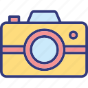 camera, digital camera, photo camera, photo shoot icon