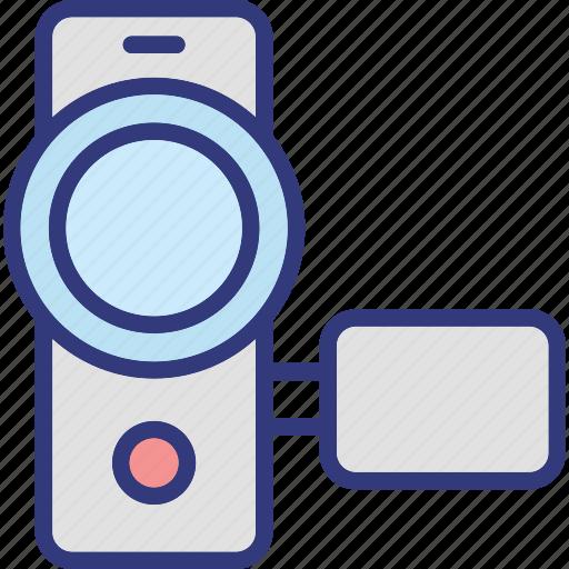 camcorder, camera, handycam, video camera icon