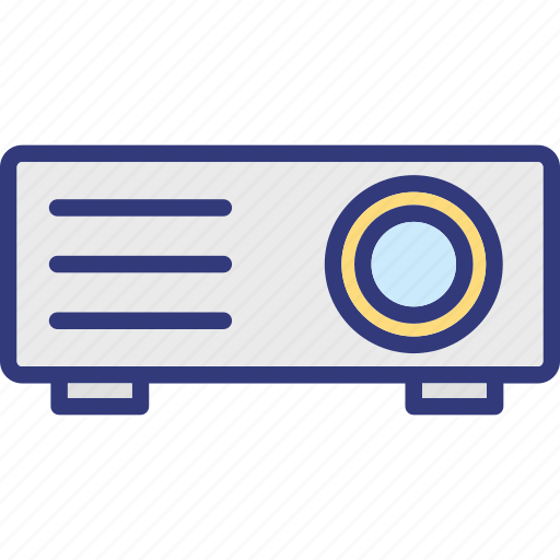 ceremonial projector, movie projector, multimedia, projector icon