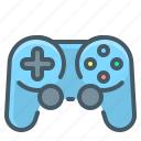 controller, device, gaming, joystick icon