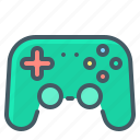 controller, gaming, joystick icon