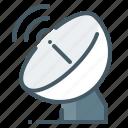 antenna, satellite, telecommunication, transmitter icon