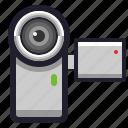 camera, record, recorder, video icon