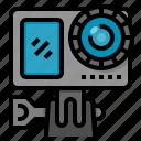 action, camera, electronics, gadget, sport icon