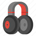 headphone, headset, music, sound, wireless icon