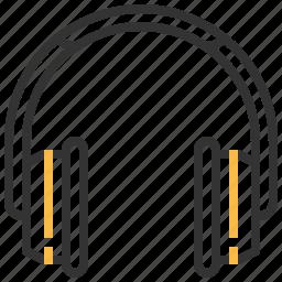 control, earphones, headphone, headset, multimedia, sound icon