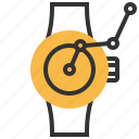 clock, schedule, smart, time, watch icon