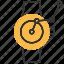 smart, watch, clock, schedule, time