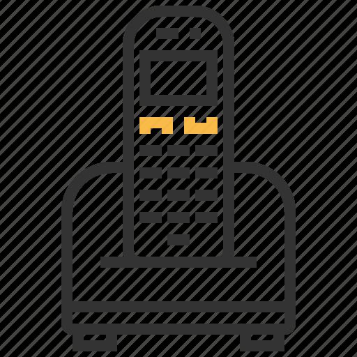 communication, connection, internet, network, telephone icon