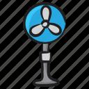 circulate air, electronic appliance, electronic fan, fan, mechanical fan, pedestal fan