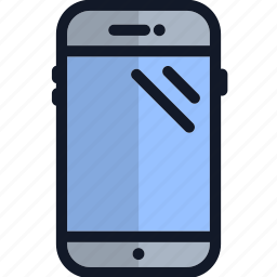 electronics, multimedia, phone, smartphone, technology, telephone, touchscreen icon