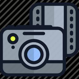 camera, electronics, media, multimedia, picture, video icon