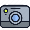 camera, electronics, media, multimedia, photo, picture icon