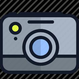 camera, electronics, media, multimedia, photo, picture icon
