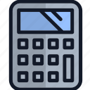 calculating, calculator, electronics, equipment icon