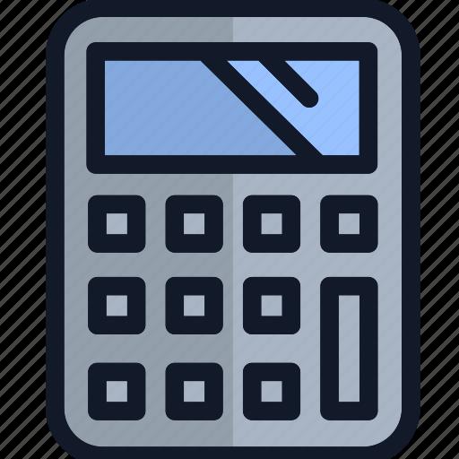 calculating, calculator, electronics, equipment icon