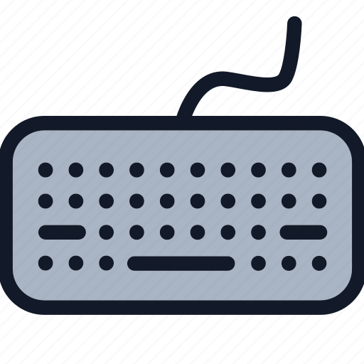 computer, electronics, equipment, keyboard icon
