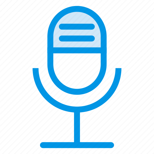 mic, microphone, podecast, record, recording, sound, voice icon