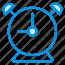 alarm, alarmclock, alert, bell, clock, ring, timer icon