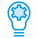 blub, bright, creative, idea, lightbulb, process, solution icon
