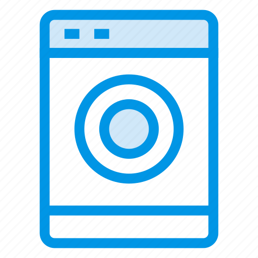 clean, cleaning, clothes, laundry, machine, washer, washing icon