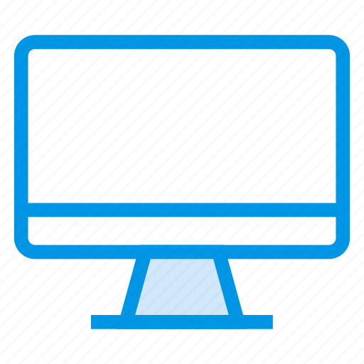 computer, device, display, monitor, screen, technology, workstation icon