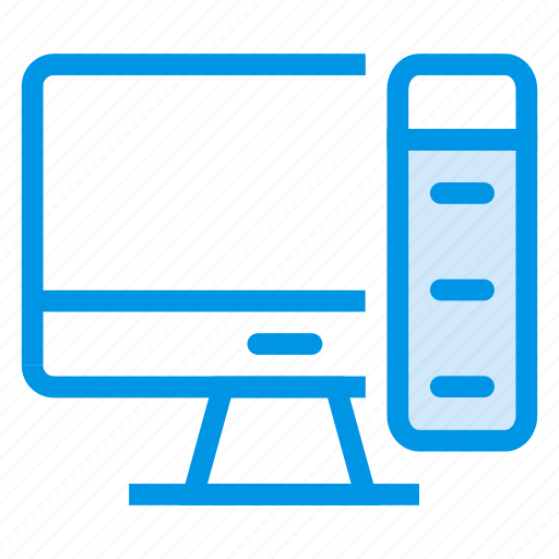 computer, device, monitor, pc, processor, screen, technology icon