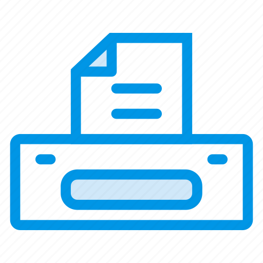 computer, electronics, office, print, printer, printing, technology icon