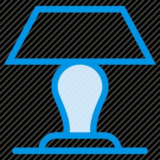 electronic, furniture, interior, lamp, light, studylamp, tablelamp icon