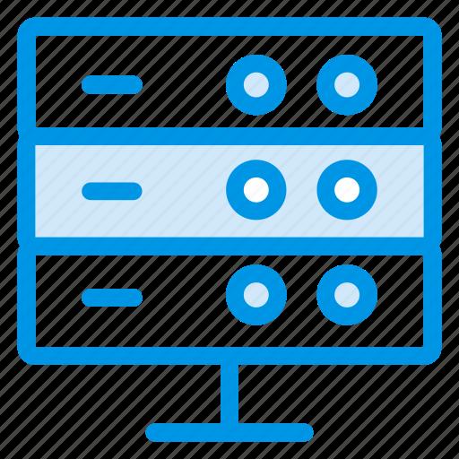 connection, database, fileserver, hosting, proxy, server, storage icon