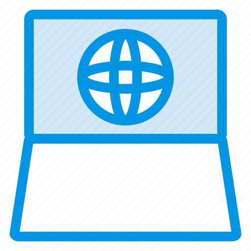 business, device, laptop, macbook, notebook, preferences, technology icon