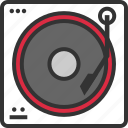audio, dj, listen, mixer, music, player icon