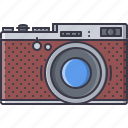 appliances, camera, electronics, gadget, retro, technology icon