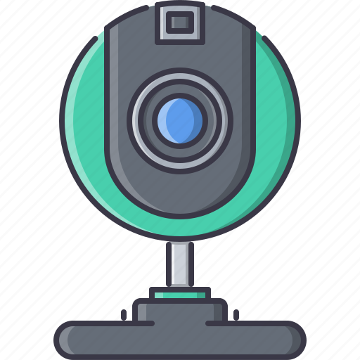 appliances, electronics, gadget, technology, webcam icon