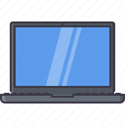 appliances, computer, electronics, gadget, laptop, technology icon