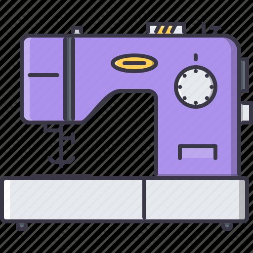 appliances, electronics, gadget, machine, sewing, technology icon