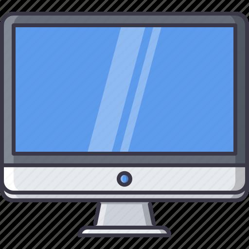 appliances, computer, electronics, gadget, monitor, technology icon