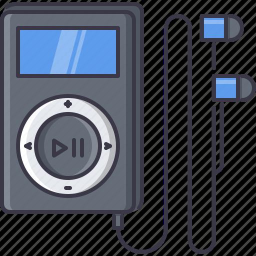 appliances, electronics, gadget, headphones, music, player, technology icon