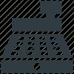 cash register, cash till, invoice machine, pos, till machine, till supplier icon
