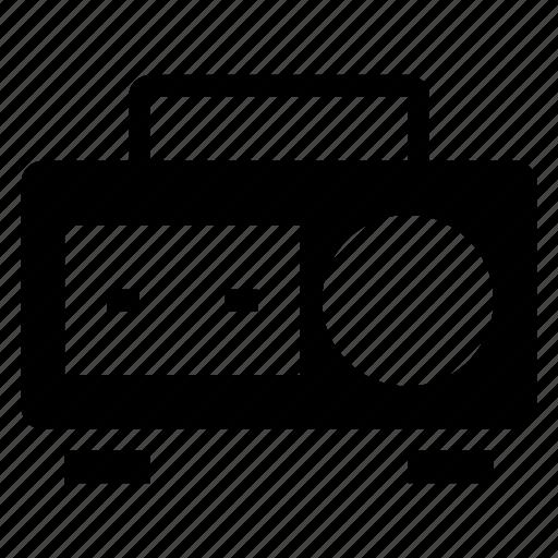 audio, audiotape, cassette, media, music, sound, tape icon